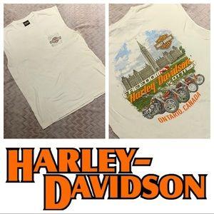 Harley Davidson sleeveless tee